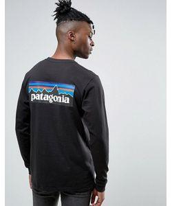 Patagonia | Лонгслив Классического Кроя С Логотипом P-6