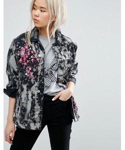 Asos | Куртка С Вышивкой