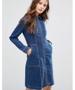 Gestuz | Джинсовое Платье На Молнии