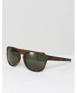 Oakley | Солнцезащитные Очки В Черепаховой Квадратной Оправе