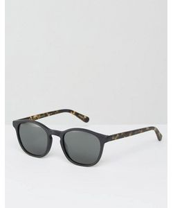 RAEN | St Malo Round Sunglasses In Matte Brindle