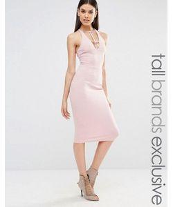 NaaNaa Tall | Платье-Футляр Без Рукавов С Глубоким Вырезом И Перекрестной Спинкой
