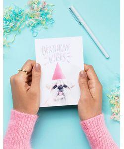 Jolly Awesome | Поздравительная Открытка С Надписью Birthday Vibes