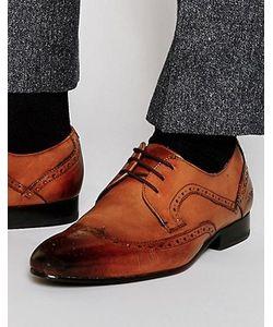 Ted Baker | Кожаные Туфли Дерби С Декоративной Перфорацией Oakke