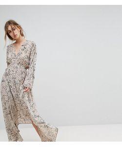 LILY AND LIONEL   Платье Макси С Глубоким Вырезом