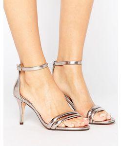 Head Over Heels | Сандалии На Каблуке Цвета Розового Золота By Dune