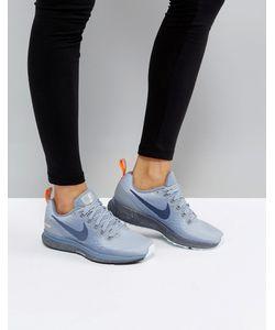 Nike | Кроссовки С Синей И Оранжевой Отделкой Running Air Zoom Pegasus