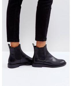 Vagabond | Черные Кожаные Ботинки Челси Amina