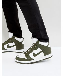 Nike | Зеленые Кроссовки В Стиле Ретро Dunk 846813-300
