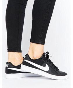 Nike | Черно-Белые Кроссовки Court Royale