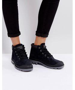 Palladium | Черные Замшевые Ботинки Pampa