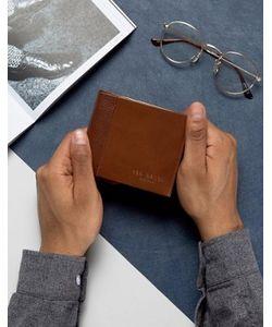 Ted Baker | Кожаный Бумажник С Контрастной Отделкой