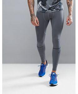 Nike Training   Серые Компрессионные Леггинсы Hyperwarm 802002-021