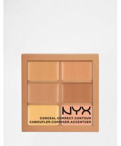 NYX | Набор Корректирующих И Контурирующих Средств Professional Make-Up 3c