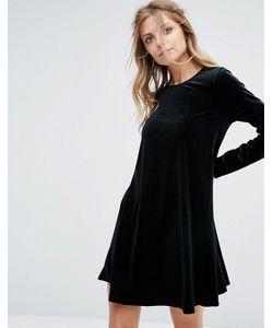 Glamorous | Бархатное Свободное Платье
