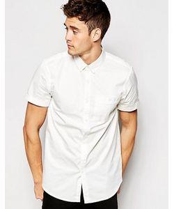 Jack Wills | Поплиновая Классическая Рубашка С Короткими Рукавами