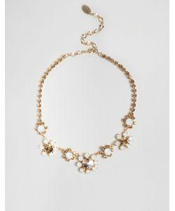 Krystall | Ожерелье С Цветами И Стразами Swarovski London