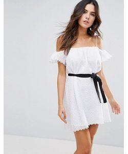 Little White Lies | Платье С Открытыми Плечами