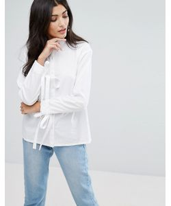 Daisy Street   Свободная Рубашка С Завязками На Манжетах
