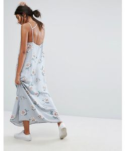 J.O.A | Maxi Dress With Scoop Back In Light