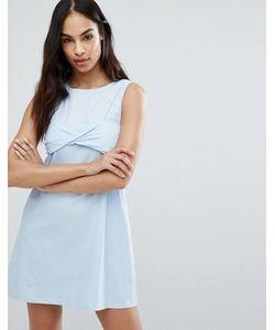 MISSGUIDED   Платье 2 В 1 С Перекрученным Бралеттом