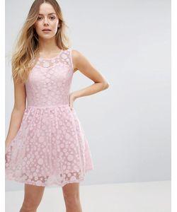 Jasmine | Короткое Приталенное Платье В Горошек