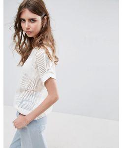 Vero Moda | Топ С Отделкой В Рубчик