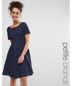 Yumi Petite | Платье В Горошек С Завязкой Сзади