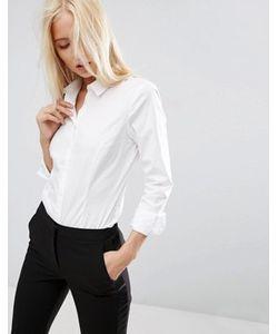 Asos   Рубашка Из Эластичного Хлопка