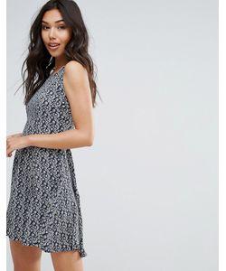 Qed London | Короткое Приталенное Платье С Принтом
