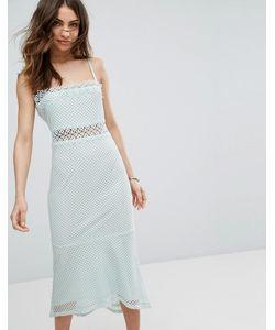 Vero Moda | Кружевное Платье Миди