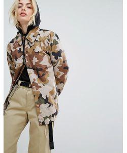 Dickies | Спортивная Куртка С Камуфляжным Принтом