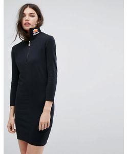 Ellesse | Облегающее Платье С Длинными Рукавами И Логотипом