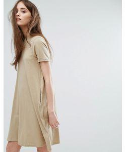 Cheap Monday | Свободное Платье С Высоким Воротом