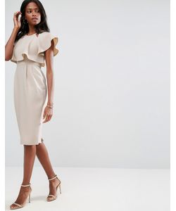 Asos | Двухслойное Платье