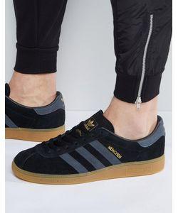 adidas Originals   Черные Кроссовки Munchen Bb5295