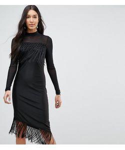 Y.A.S Tall | Облегающее Платье С Бахромой