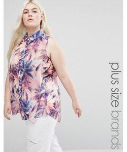 Koko | Рубашка С Перьевым Принтом Plus