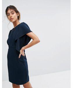 Closet London | Платье Миди С Короткими Рукавами Closet