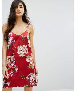 MISSGUIDED | Платье-Комбинация С Цветочным Принтом