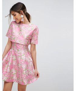 Asos | Приталенное Платье Salon