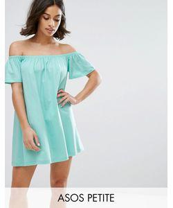 ASOS PETITE | Платье Мини С Открытыми Плечами