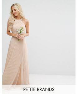 TFNC Petite | Плиссированное Платье Макси Wedding