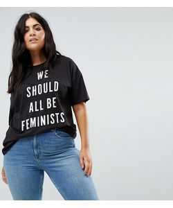 Boohoo Plus | Футболка С Принтом We Should All Be Feminists
