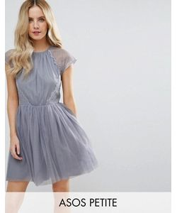 ASOS PETITE | Платье Мини Для Выпускного Premium