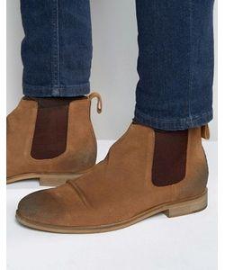 Dead Vintage | Светло-Коричневые Замшевые Ботинки Челси