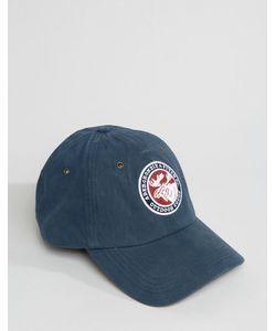 Abercrombie and Fitch | Синяя Бейсболка С Логотипом Abercrombie Fitch