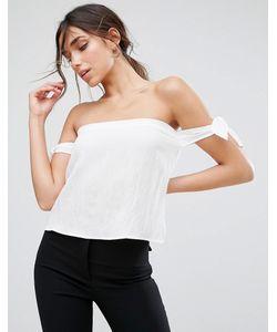 Unique 21 | Блузка С Открытыми Плечами И Завязками Unique21