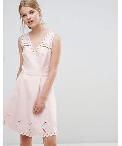 Ted Baker | Платье С V-Образным Вырезом И Вышивкой