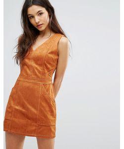 Greylin | Платье Из Искусственной Замши Jordan